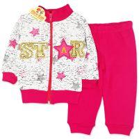 Compleu bumbac fetite 3-12 luni, STAR