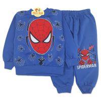 Trening copii 6 luni-3 ani, Spiderman, albastru inchis