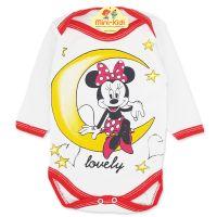 Body bumbac bebelusi 1-18 luni, Minnie Mouse