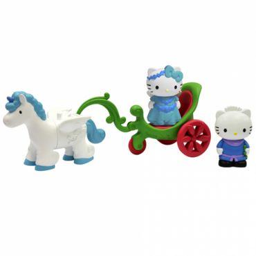 Unimax - Set trasura cu unicorn, Hello Kitty