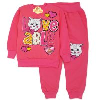 Trening gros, fetite 3-8 ani, pisicuta loveable, roz
