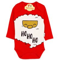 Body Craciun - Ho Ho Ho, bebelusi si copii 3-18 luni, bumbac