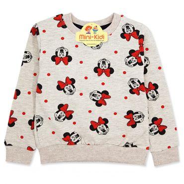 Bluza fetite 1-5 ani, Minnie Mouse cu fundite