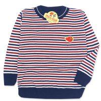 Bluza tricotata subtire copii 4-7 ani, pulover dungi