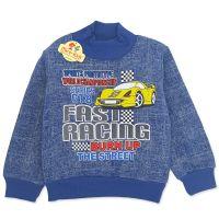 Bluza bumbac baieti 1-5 ani, masinuta, albastru
