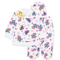 Pijamale bebelusi 3-6 luni, 3 piese, masinute si avioane