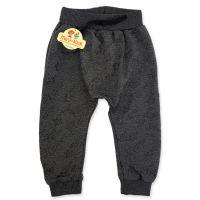 Pantaloni moderni cu turul lasat, copii 9 luni-3 ani, gri