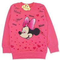 Bluza bumbac fetite 4-9 ani, Minnie Mouse, roz