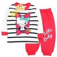 Trening bumbac bebelusi 3-12 luni, Hello Kitty, corai