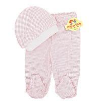 Set caciula-pantaloni bebelusi 0-3 luni, buline
