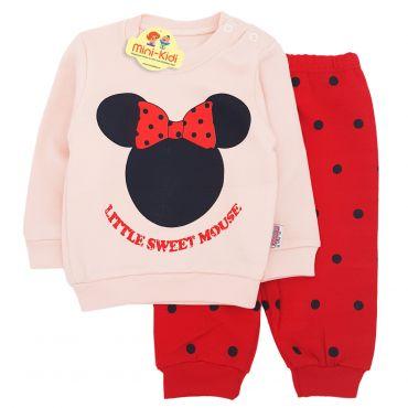 Trening bumbac bebelusi 3-12 luni, Minnie Mouse