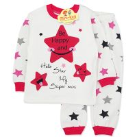Pijamale bumbac fetite 9 luni-2 ani, be happy