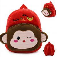 Rucsac plușat copii, maimutica, 23 cm