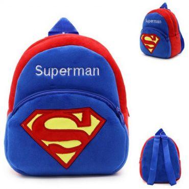 Rucsac plușat copii, Superman, 23 cm