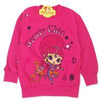 Bluza bumbac fetite 9 luni-4 ani, Shimmer & Shine, fuchsia