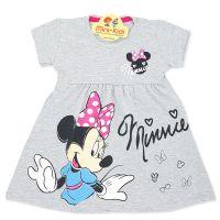 Rochita bumbac fetite 9 luni-8 ani, Minnie, gri
