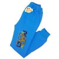 Pantaloni trening baieti 8-13 ani, albastru