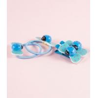 Set accesorii par fetite, Buburuze, bleu