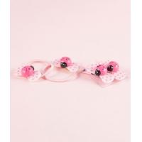 Set accesorii par fetite, Buburuze, roz