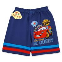 Pantaloni scurti baieti 9 luni-4 ani, fulgerul, albastru