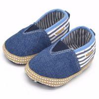Pantofiori denim bebe 3-18 luni