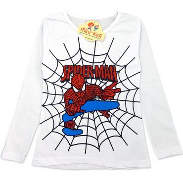 Compleu modern baieti 3-8 ani, 3 piese, Spiderman