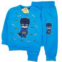 Trening baieti 6 luni-3 ani, Batman, albastru