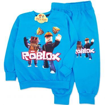 Trening baieti 3-8 ani, Roblox, albastru