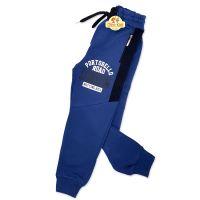 Pantaloni sport copii 4-8 ani, bleumarin