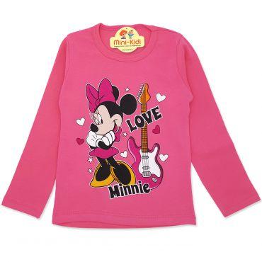 Bluza fete 3-8 ani, mouse, roz