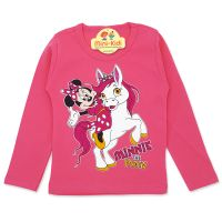 Bluza fete 9 luni-4 ani, mouse, roz