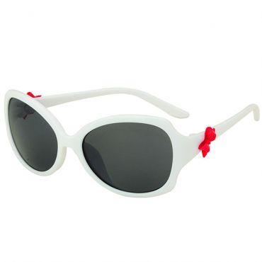 Ochelari de soare polarizati copii, albi