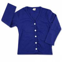 Jacheta bumbac copii 2-5 ani, albastru
