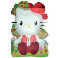 Sticker perete Hello Kitty, 86x56 cm
