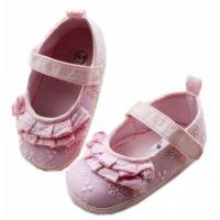 Balerini brodati  fetite 9-12 luni, roz