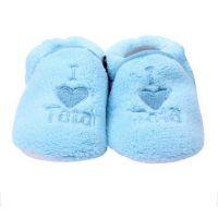Botosei bebe 3-6 luni, I love tata, bleu