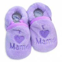 Botosei bebe 3-6 luni, I love mama, lila