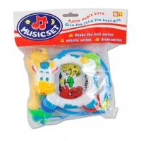 Set toba si accesorii copii, multicolor