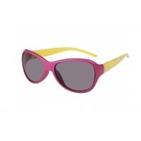 Ochelari de soare copii fuchsia-galben