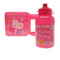 Set pachetel fetite, cutie si sticla, Hello Kitty