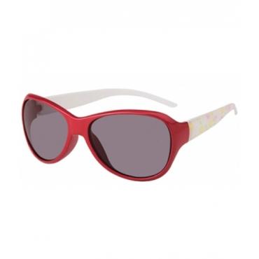 Ochelari de soare copii rosu-alb