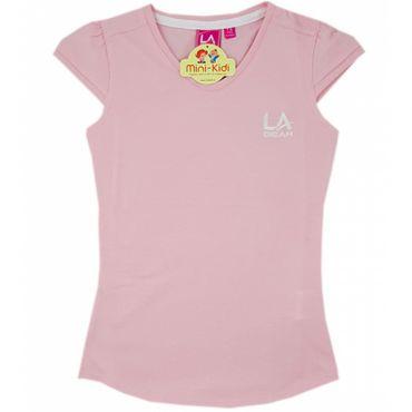 Tricou sport fetite 7-11 ani, roz