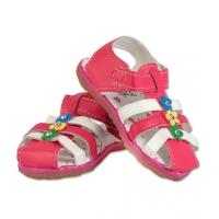 Sandale fetite floricele, marimea 21