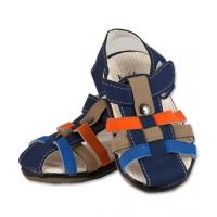 Sandale baieti, bleumarin, mar. 20.5