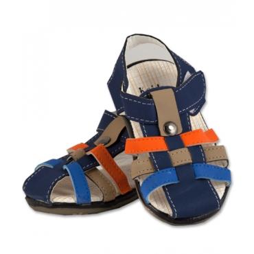 Sandale baieti, bleumarin