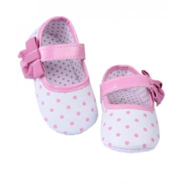 Balerini fetite 3-12 luni, buline roz