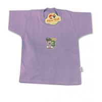 Tricou bumbac copii 3 luni-3 ani, lila
