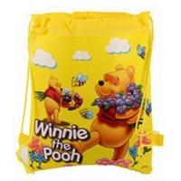 Sac sport copii 36x27 cm, Winnie, galben