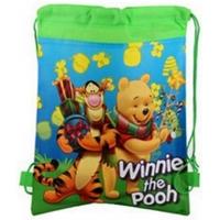 Sac sport copii 36x27 cm, Winnie, verde