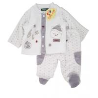 Costumas imblanit bebe 1-3 luni, Ursulet